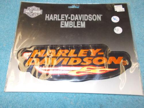 HARLEY DAVIDSON EMBLEM PATCH ORGINIAL HARLEY DAVIDSON PATCH #10 H-D FLAMES