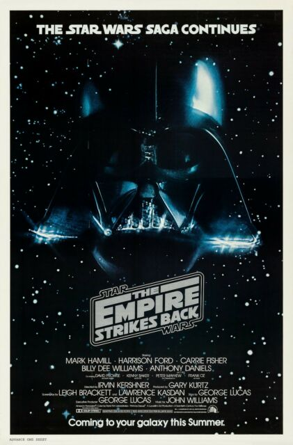 """The Empire Strikes Back Wall Movie Poster 18/""""x13/"""" Star Wars Episode V 5"""