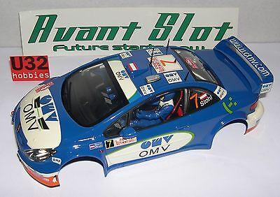 Kinderrennbahnen Elektrisches Spielzeug Avant Slot Karosserie 1/24 Peugeot 307 Wrc #7 Omv Stohl-moll Mint