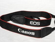 """1 1/8"""" (3cm) wide CANON EOS CAMERA NECK STRAP, soft for 60D 6D 70D Mark 50D 7D"""