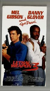 Details about Lethal Weapon 3 (VHS hi-fi, 1992),Color/118 Mins