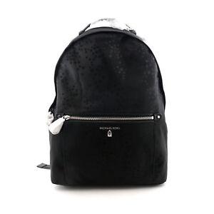 5b3db3d2a7e95 Image is loading Michael-Kors-Nylon-Kelsey-Star-Print-Large-Backpack-