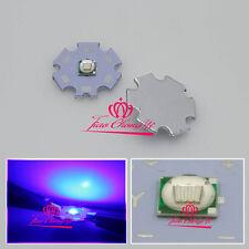 10pcs 3W UV 395-400nm LED ultraviolet LED High Power Dioders bead 3.2V-3.8V