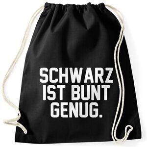 Turnbeutel-mit-Spruch-Schwarz-ist-bunt-genug-lustiger-Turnbeutel-Moonworks