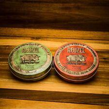 Green & Red - Grüne + rote Reuzel Pomade (Set) 226g