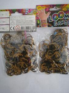 Gut Loom Baends Loombands Neuer Farbmix Schwarz/braun Ton 600 Stück,24 S-clips 2hake Das Ganze System StäRken Und StäRken Creativsets Spielzeug