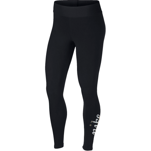 Nike femmes sportswear métallique leggings neuf...