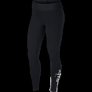 wholesale dealer 61d4f 2bb40 Details zu Nike Damen Sportkleidung Metallisch Leggings Neu Schwarz Gold  Silber Sport