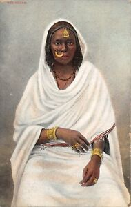 POSTCARD-EGYPT-Negress
