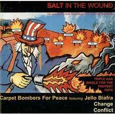 Carpet Bombers For Peace (Jello Biafra) / Conflict – Salt In The Wound CD Punk