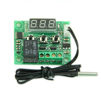 New DC12V -50-110°C Digital Heat Cool Temp Thermostat Temperature Control Switch