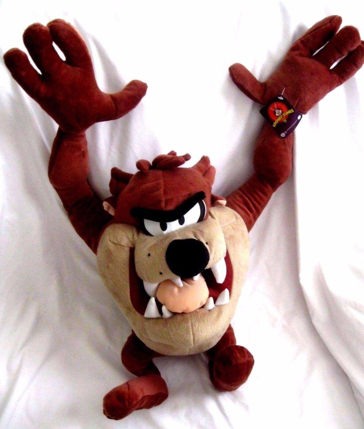 Tazmanian Devil Taz Looney Tunes Mighty Stern 24  Stuffed Spielzeug Warner Bros-New