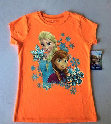 Elsa Anna Frozen Disney World toddler tee shirt Olaf Kristoff