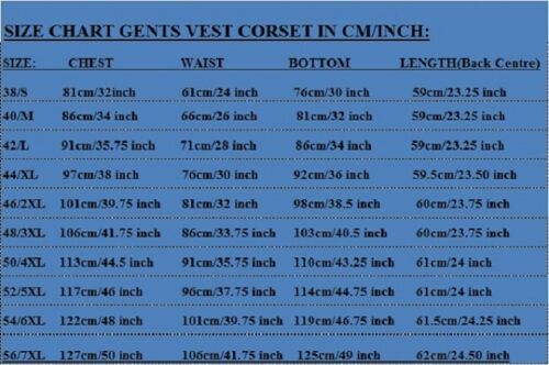 Lace 7xl Pvc Bones Nero ~ corsetto Uomo Real Ostrich Steel Back Vest S Up qnaOTYx