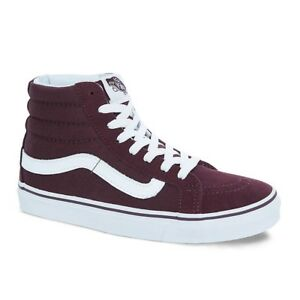 Vans SK8 Hi Slim Skate Shoes Iron Brown Unisex M 8.5   W 10  12d40be3e