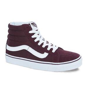 dc7b3d2f4 Vans SK8 Hi Slim Skate Shoes Iron Brown Unisex M 8.5   W 10