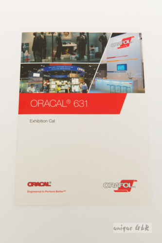 Farbkarte Oracal 631