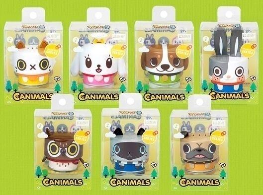 CANIMALS (Dosentiere) SET mit 7 Figuren
