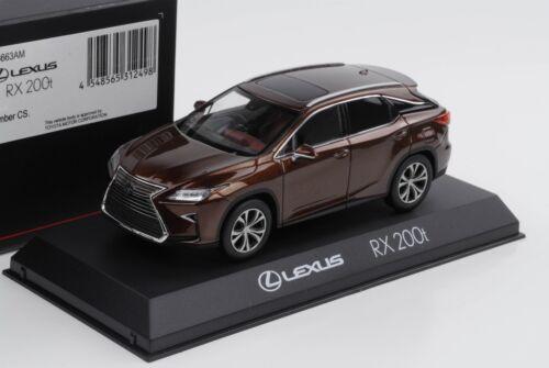 Lexus RX 200t F Sport Amber Crystal toyota 1:43 Kyosho DIECAST