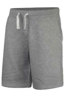 Mens-Summer-Plain-Sweat-Jog-Shorts-Fleece-Zip-Pockets-Navy-Grey-Gym-HolidayS-5XL