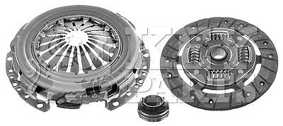 VW FOX 5Z 1.2 Clutch Kit 2005 on KeyParts 03D141015D 03D141015B VOLKSWAGEN New