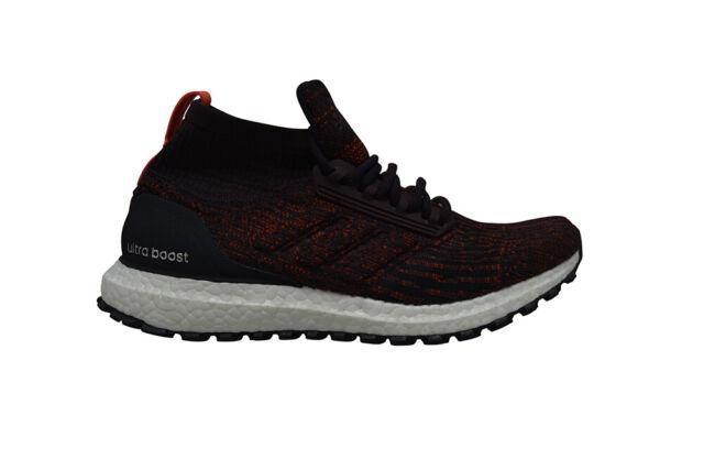fd838bafc23a9 Mens Adidas Ultra BOOST All Terrain - S82035 - Dark Burgundy Trainers