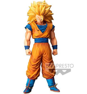 Dragon Ball Z Banpresto GRANDISTA NERO Super Saiyan SS3 Son Goku big size figure