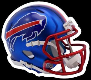 Buffalo-Bills-Football-Helmet-with-Buffalo-on-Side-Magnet-NFL-Football-MAGNET