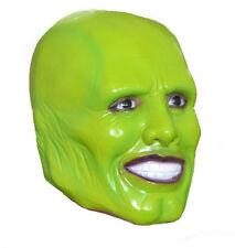 """""""la Maschera Maschera Di Lattice Verde"""" JIM CARREY FILM Costume Loki festa di Halloween"""