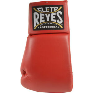 Cleto-Reyes-Giant-21-034-Collectible-Autograph-Boxing-Glove-Left-Hand-Red