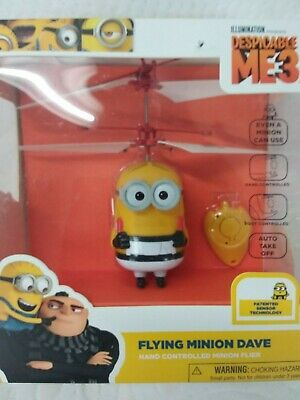 Despicable Me 3 Flying Minion Dave Hand Controlled Minion ...