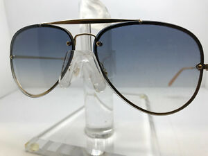f74600f990 AUTHENTIC RAY BAN SUNGLASSES RB 3584N 001 19 GOLD GRADIENT LIGHT ...