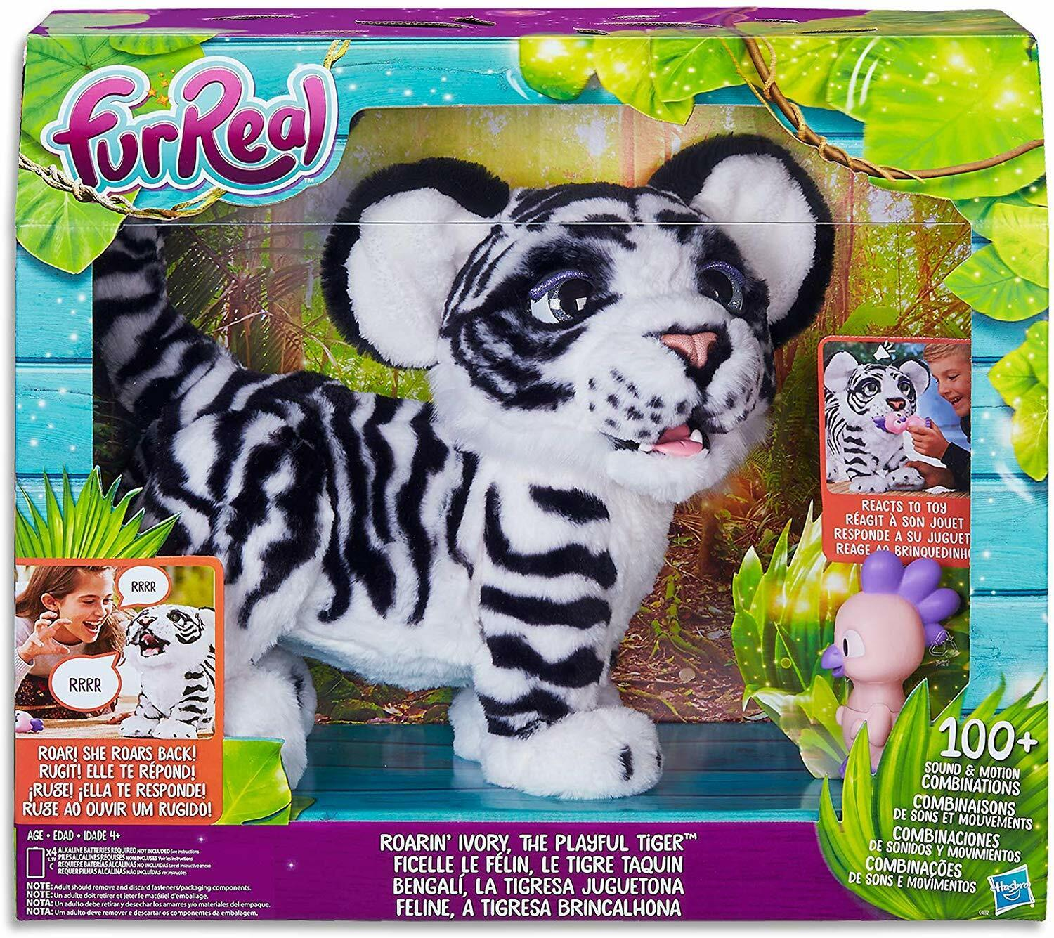 FurReal Roarin Ivory The Playful Interactive Tiger by Fur Real