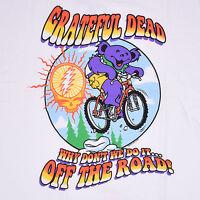 Grateful Dead-why Don't We Do It...off The Road-bear-bike-shirt M-l-xl Rare