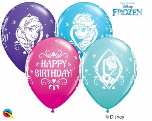 Disney Frozen Décorations de Fête Loot Sac Jouets Ballons stickers cadeaux Fournitures