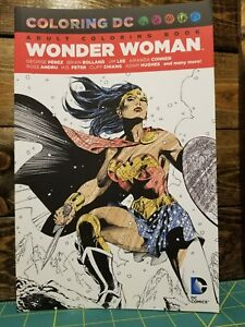 Details Sur Wonder Woman Adulte Coloriage Livre Dc Comics Amazon Heros Jeune Adulte Afficher Le Titre D Origine