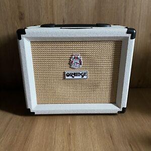 Orange Crush 20 50th Anniversary Limited Edition White Guitar Amp - Working