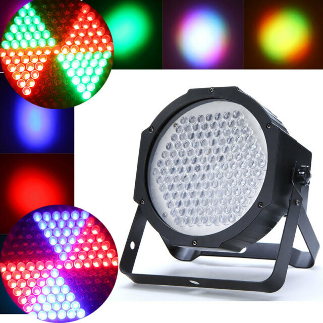 127 LEDs RGB Stage Lighting DMX512 Party Show Disco DJ Effect Lighting 90-240V