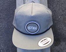 Hurley Surfing Co. M OG Shed Gray Snapback Hat CapHTHRL-54