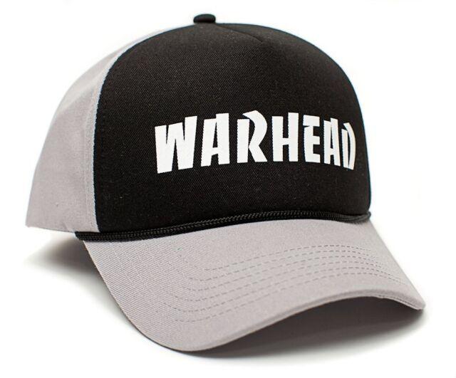 New Warhead Printed Curved Cloth Cap Hat Black Gray Dime Bag Darrell Pantera a8e200c879e0