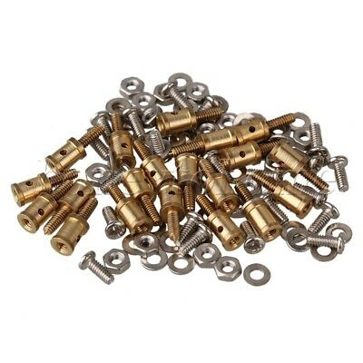 20PCS Quick Adjustable Wire Rod Servo Connector Metal Helicopter For RC Airplane