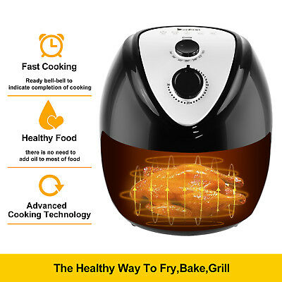 1500W 6.87QT Electric Air Fryer,Temperature Control, Timer NO Oil high quality