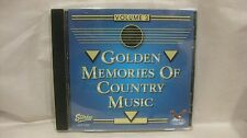 Golden Memories Of Country Music Volume 2 2010 Gusto Records              cd1361