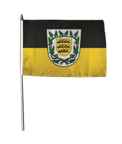 Stockflagge Fahne Flagge Winnenden 30 x 45 cm