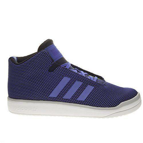 Mens ADIDAS VERITAS MID Purple Hi Top Trainers B24561