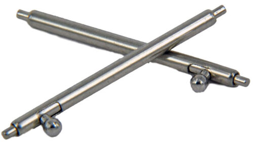 5mm Spring Bars Clock Pins BAR 2 Stainless Steel Quick Release Spring-Bar Ø1