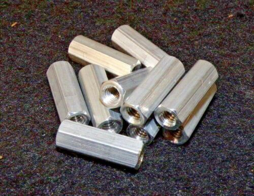 #8-32 x 3//4 L Hex Standoff Female Aluminum 6RB97 QTY-10