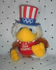 "Vintage L.A. 1984 Olympics Sam the Eagle 7"" Plush Soft Toy Stuffed Animal"