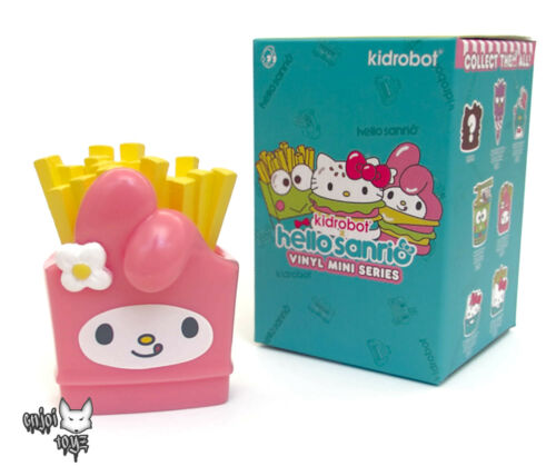 "3/"" Figure NEW My Melody Frites-Hello Sanrio Mini Série x Kidrobot"
