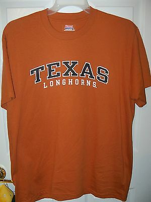 ESPN Texas Longhorns Football Fanatic Short Sleeve Shirt Mens Size Large NWT